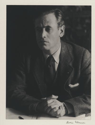 John Jacob Niles; Doris Ulmann