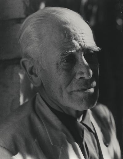 Portrait of John Jacob Niles; Boot Hill Farm; John Bell