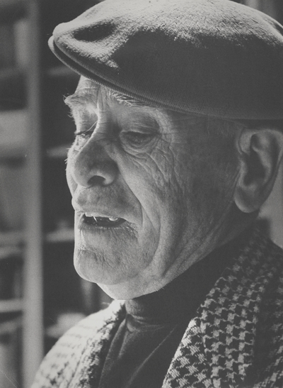 Portrait of John Jacob Niles; John Howard Griffin