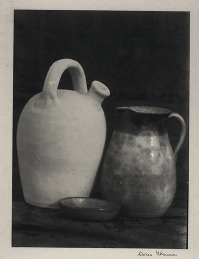 Pottery; Doris Ulmann