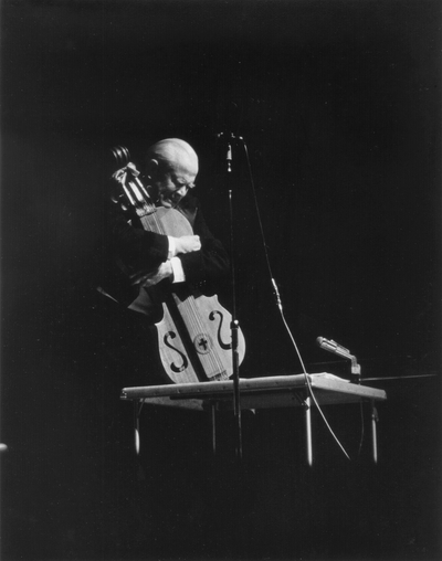 Performance by John Jacob Niles at Terre Haute, Indiana; Garlan Cooper