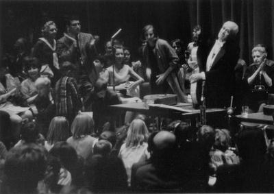 John Jacob Niles seventy-fifth birthday concert; University of Kentucky; Lexington, KY