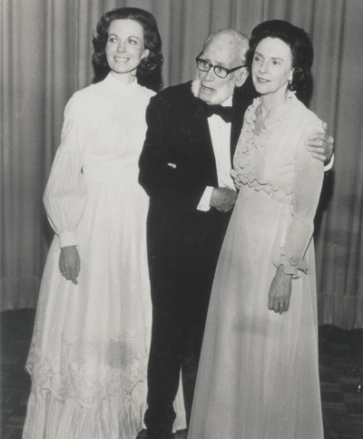 Performance at the University of Missouri-Kansas City; Left to Right: Jacqueline Roberts, John Jacob Niles, and Nancie Field