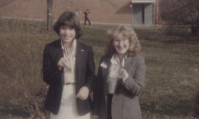 Exhibit on the life of John Jacob Niles; Michelle Carr and Joan Deaton; Morton School