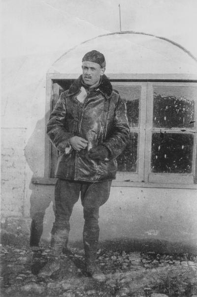 Lt. John Jacob Niles; Foggia, Italy