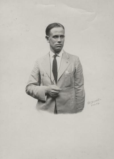 John Jacob Niles portrait, Coote' photo; Wesselman; Lexington, KY