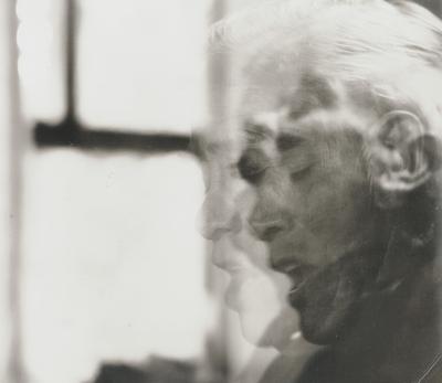 John Jacob Niles; Double exposure; Boot Hill Farm