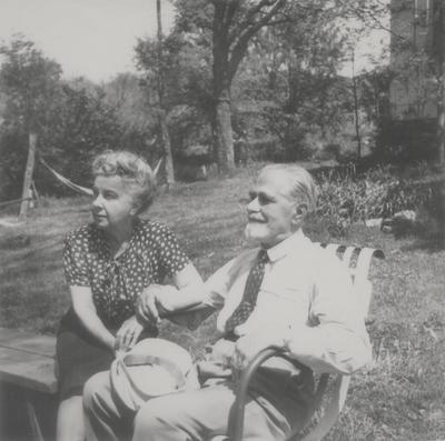 Vasile and Alphonse Lipetz, Rena Niles' parents; Boot Hill Farm