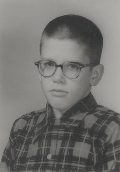 School picture of John Ed Niles; Athens School