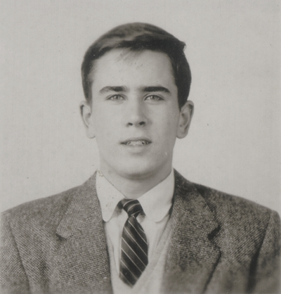 Tom Niles' graduation portrait
