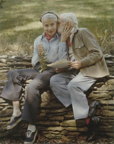 John Jacob Niles and Rena Niles; Boot Hill Farm; Tony Leonard