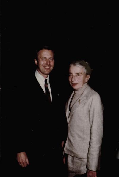John Jacob Niles' 87th birthday: Arch Mainous, Jr. and Rena Niles