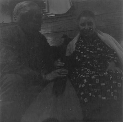 John Jacob Niles with Henrietta Child, Boot Hill Farm