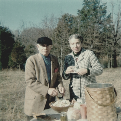 Picnic at Gethsemane; John Jacob Niles and Rena