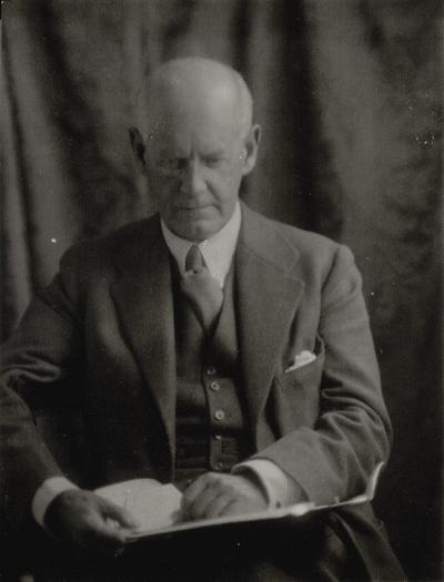 John Galsworthy; Doris Ulmann