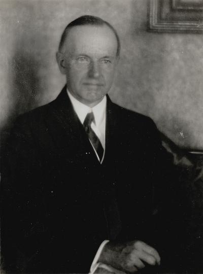 Calvin Coolidge; Doris Ulmann