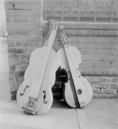 Two dulcimers; Albany, New York
