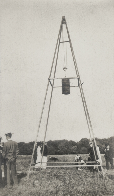 Launching tower of Orville Wright's airship; Fort Meyer; Washington, D.C.; Paul Thompson
