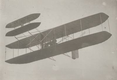 First Wright model flown by Orville Wright; Paul Thompson