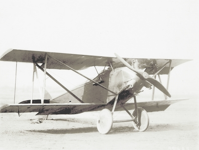 Sperry Messenger, capable of 32 miles per gallon of gasoline and 95 mph speed; Paul Thompson; U.S. Army Air Service