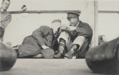 Men on ship