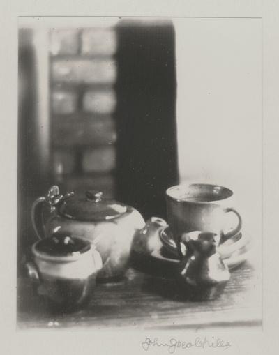 Pottery; John Jacob Niles