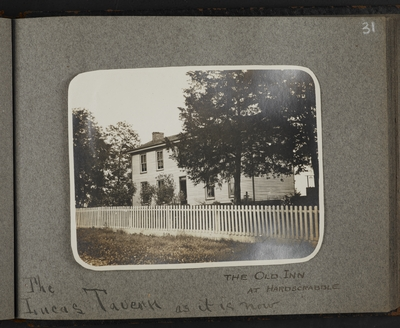 The Old Inn at Hardscrabble. The Lucas Tavern as it is now