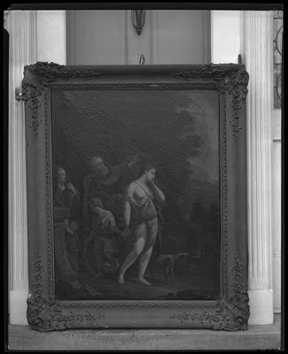 Wilkerson, Mrs. (110 Irvin Road); copy of oil                             painting