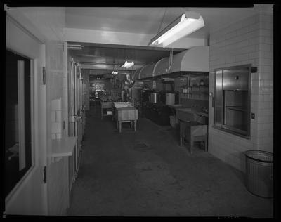 S.S. Kresge & Company (156, 250 West Main); interior;                             kitchen