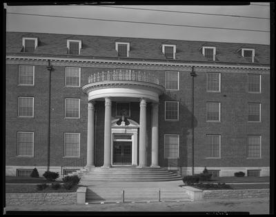Hargett Construction Company; Bowman Hall [dorm (dormitory)];                             exterior