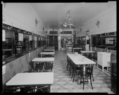 Small cafeteria, interior