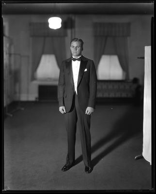 Man in tuxedo, bow tie