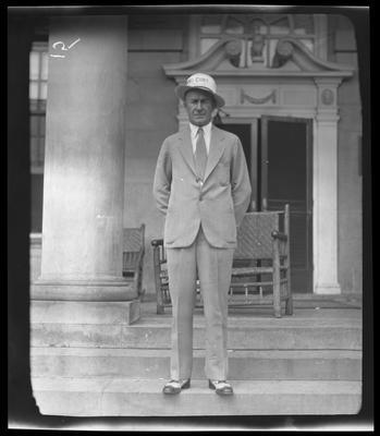 Man in hat (