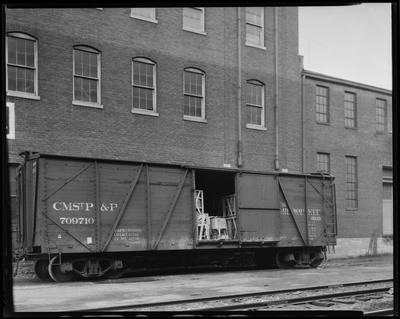 Milwaukee Road Box Car