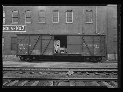 Milwaukee Road Box Car