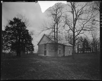Cane Ridge Meeting House, in Bourbon County (erected                             1791)