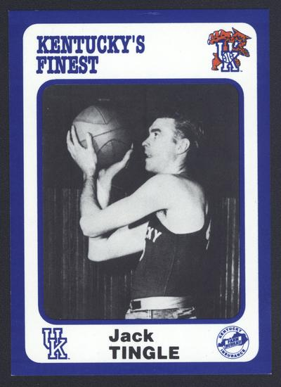 Kentucky's Finest #33: Jack Tingle (1943-47), front