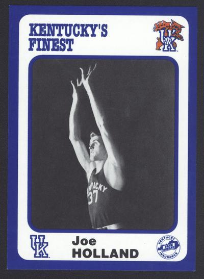 Kentucky's Finest #34: Joe Holland (1945-48), front
