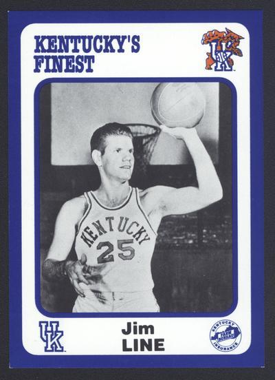 Kentucky's Finest #35: Jim Line (1945-48), front