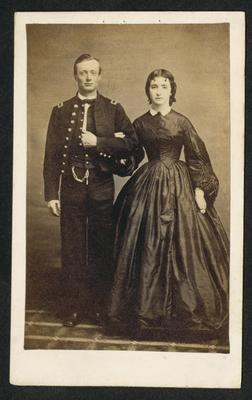Lieutenant Miller, U.S.A. and wife