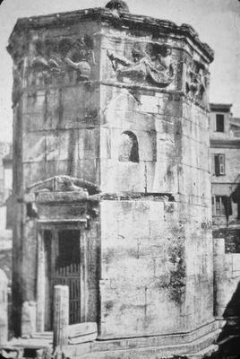 Tower of the Winds - Note on slide: LXVII / Dinsmoor, Architecture of Ancient Greece