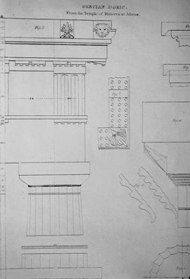Order of Parthenon - Note on slide: Edward Shaw / Civil Architecture
