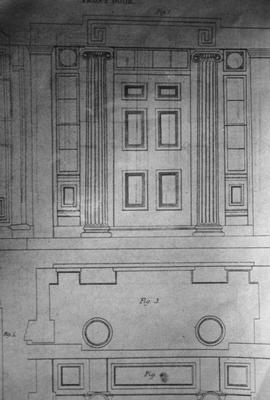 Design for Front Room - Note on slide: Edward Shaw / Civil Architecture Plate