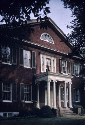 Orlando Brown House - Note on slide: Kramer / Capitol on the Kentucky color plate
