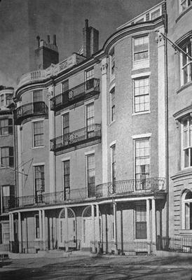 54 -55 Beacon Street - Note on slide: Ross / Book of Boston