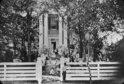 Elmwood (Brand-Barrow House) - Note on slide: 203 East Fourth Street