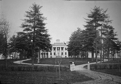 Walnut Hall - Note on slide: Iron Work Road. Art Works of the Bluegrass 1898