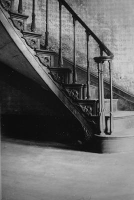 Rosehill (Holloway House) - Note on slide: Staircase