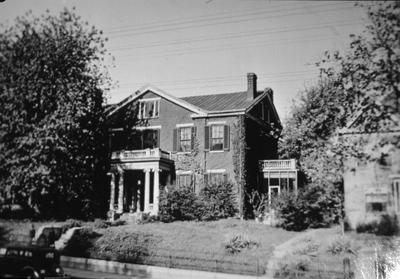 David Bell House - Note on slide: South Broadway
