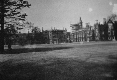 Strawberry Hill - Note on slide: Additions 1750-1770. Twickenham. Richard Bentley